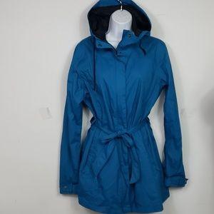 Columbia Womens Pardon My Trench rain jacket sz xl